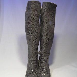 Michael Kors Shoes - Michael Kors Snakeskin Boots sz8